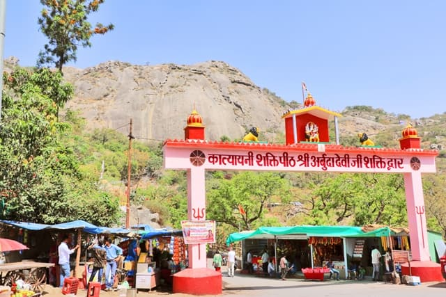 Arbuda Devi Temple Hill Tourism Mount Abu