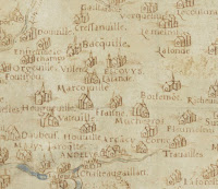 La carte généralle du pays de Normandie (c) BnF