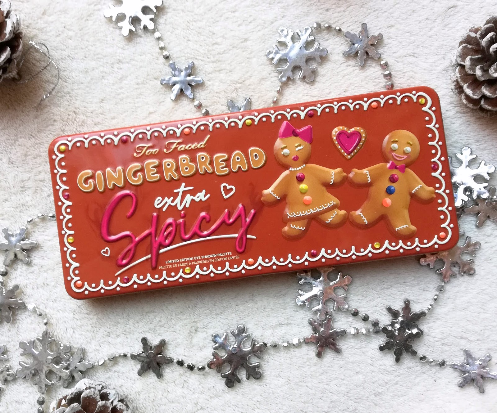 Gingerbread Exra Spicy de TOO FACED : swatch & make up