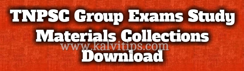 Tnpsc Group 2a Study Materials Pdf In English