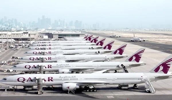 The Second Wave Of Corona, Qatar Airways Grounded The Planes