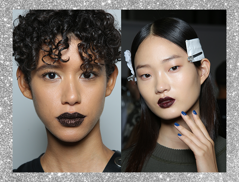Makeup by Pat McGrath for DKNY SS17, featuring Alyssa Manuel for Couturesque TV.