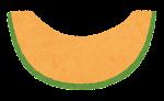フルーツのマーク(カットメロン2)