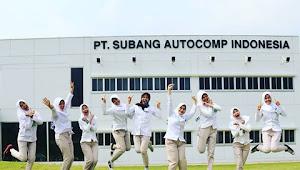 Info Loker SMA/SMK untuk PT.SUBANG AUTOCOMP INDONESIA SUAI