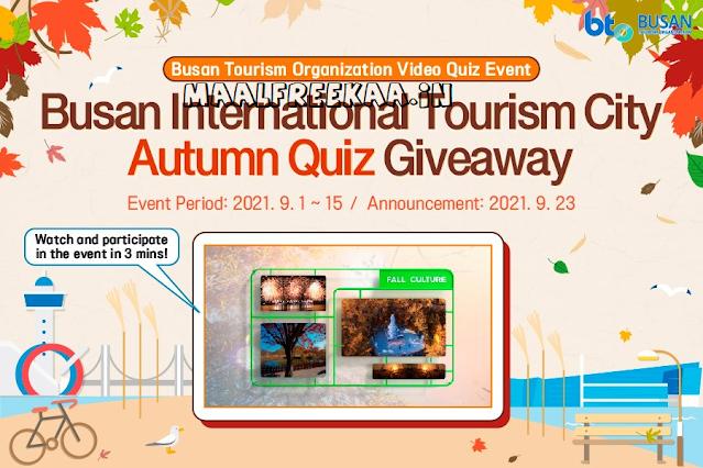 Busan Tourism Organization Quiz Contest