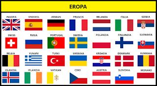 Bendera Negara Eropa