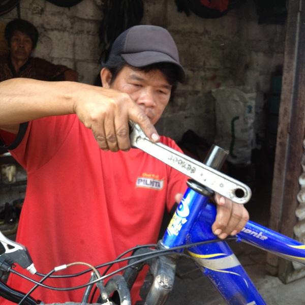 Bengkel Sepeda Onthel Murah Meriah Dari Jatinegara