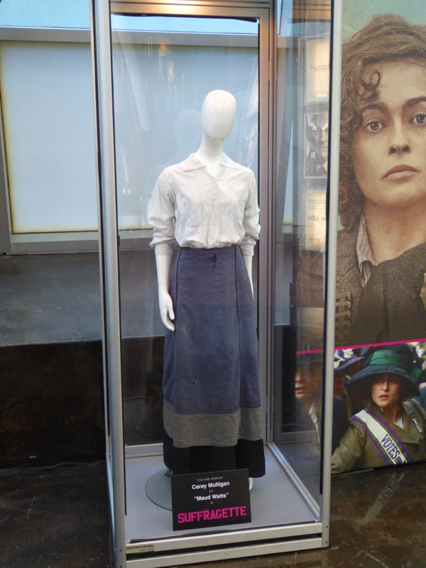 Carey Mulligan Suffragette film costume