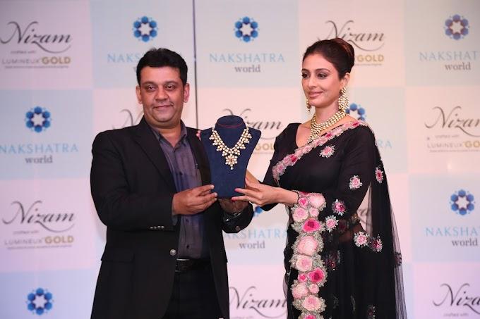 Nakshatra World Launches Nizam Jewellery in LumineuxUno Gold