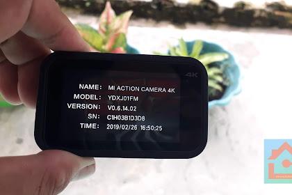 Mudah sekali cara update Firmware Action Cam Xiaomi Mijia 4K