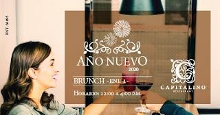 BRUNCH de Año Nuevo 2020 en Bogotá