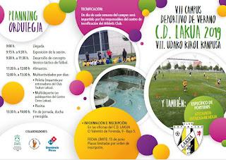 VII Campus deportivo de verano CD Lakua