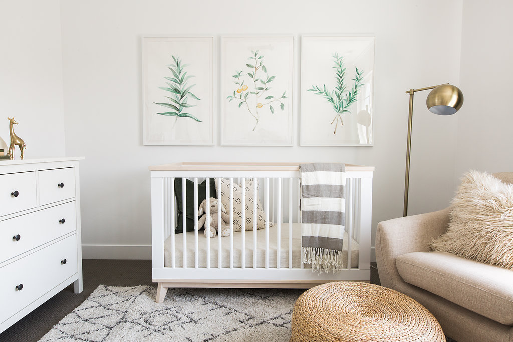 How to Decorate a Gender Neutral Baby Nursery | Kayla Lynn