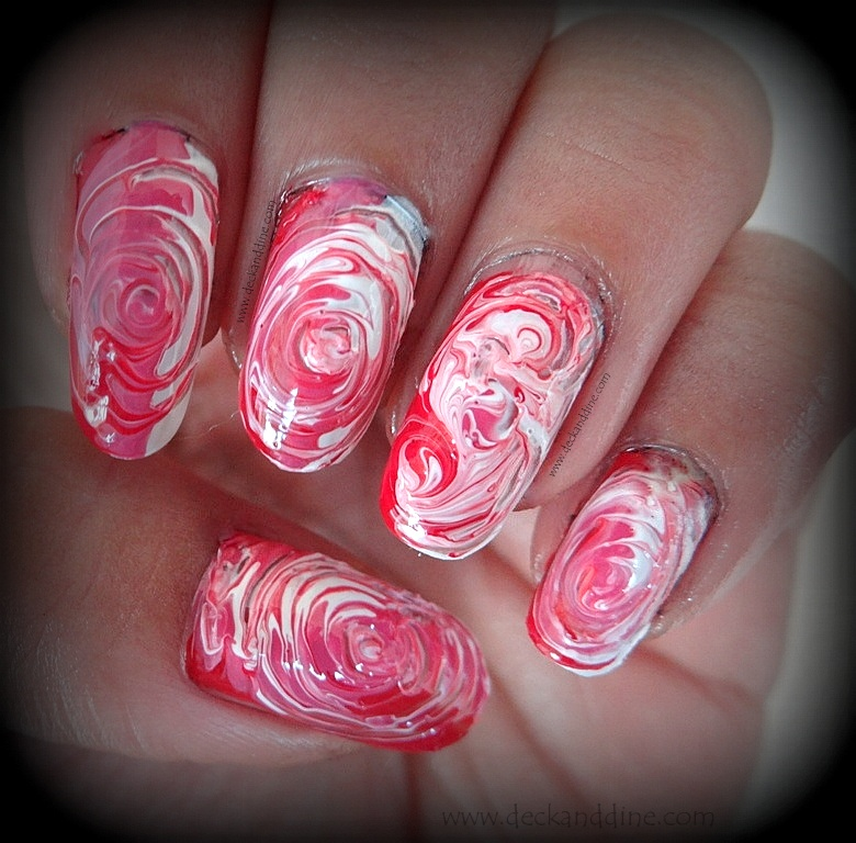 Swirl Nail Art for Beginners: Step by Step Tutorial - Deck and Dine