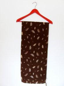 Charlotte Spare silk scarf penguins vintage fashion polish blog netstylistka