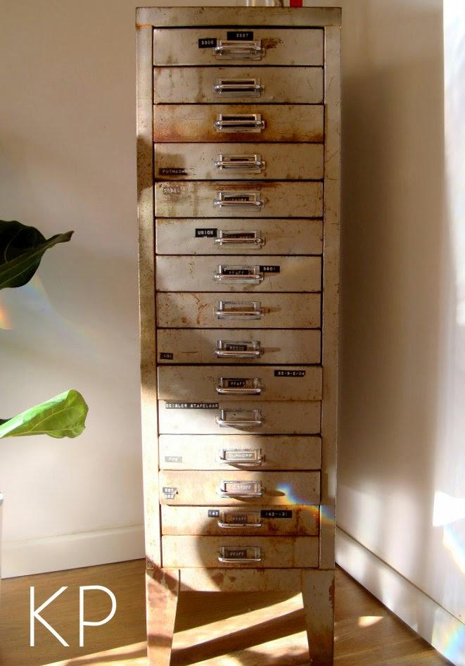 Muebles archivador antiguos, cajonera industrial vintage estilo industrial