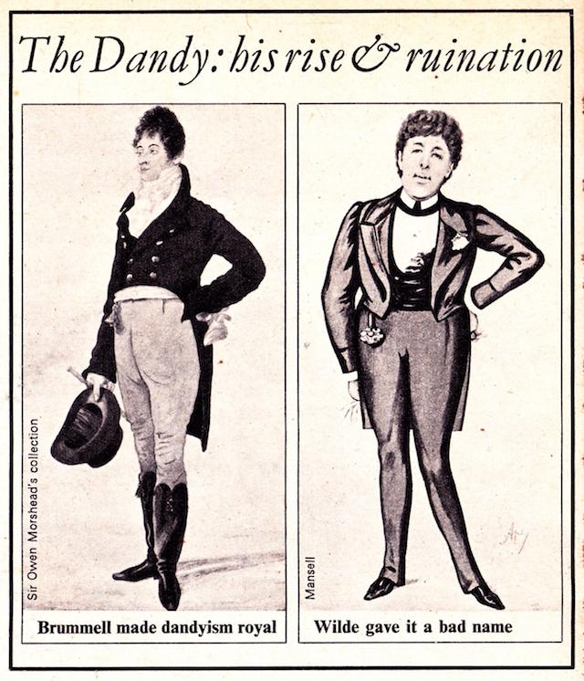 Dandy Oscar Wilde, Beau Brummell