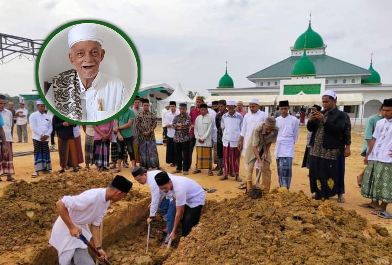 Usai Resmikan Masjid Miliknya, Habib Muhammad bin Achmad Al-Attas Wafat