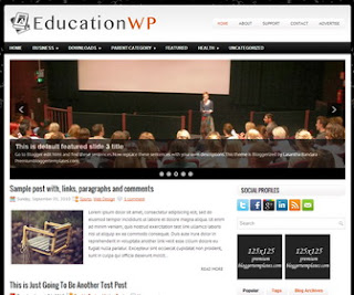 EducationWp Blogger Template