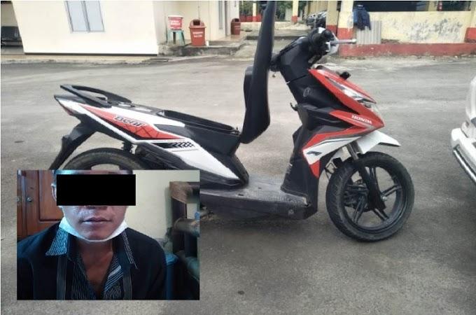 Honda Beat Nopol BE 6306 OB, Hilang Saat Di Parkir, Pelaku Telah Ditangkap !