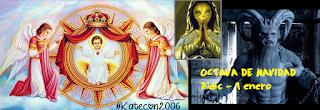 El misterio anticrístico de la OCTAVA de navidad  (24-1) y el culto oculto a la reina del cielo #Katecon2006