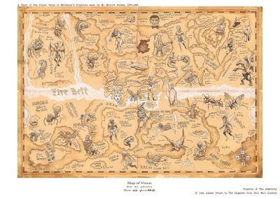 MAPA DE VENUS DE MYCROFT HOLMES, por Sergio Bleda. 10 euros