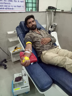 एक माह के लिये रक्तदान शिविर का शुभारंभ, पुलिस अधीक्षक श्री गौरव तिवारी के द्वारा किया गया