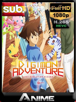 Digimon Adventure – Last Evolution Kizuna (Movie) subtitulada x265 HEVC HD [1080P] [GoogleDrive] RijoHD