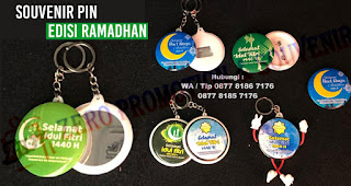 Jual Souvenir Pin Edisi Ramadhan, Souvenir Ramadhan, Pin Idul Fitri