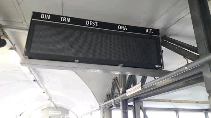 Treni Roma-Viterbo: display spenti, pendolari nel caos