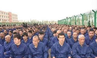 China has built nearly 400 'suspected detention centres' where more than one million Uighurs Muslims are allegedly detained in Xinjiang