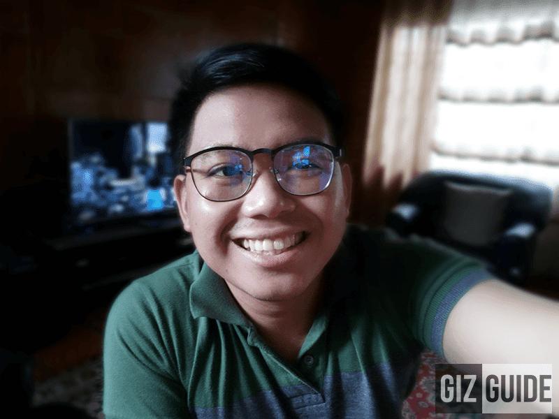 Decent portrat selfie