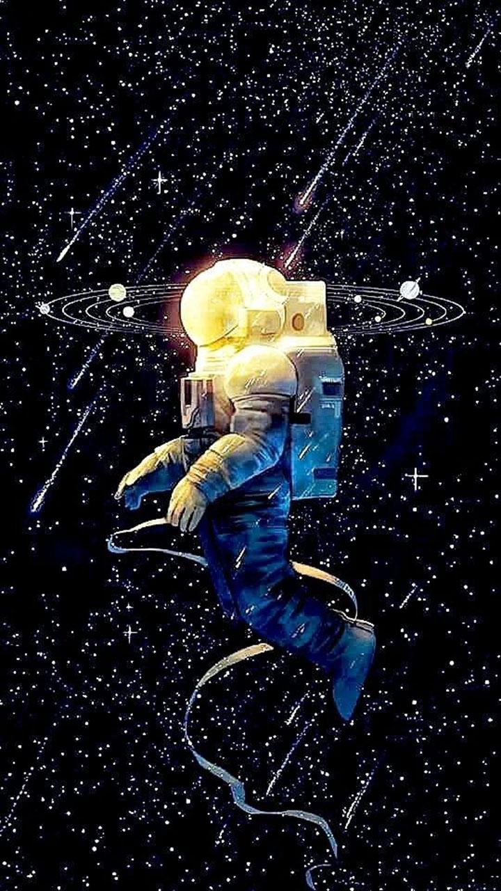 Hình nền phi hành gia 3d