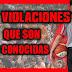 ► 5 VIOLACIONES ┊〔CASI NO SUCEDEN EN  EL BASQUETBOL〕✘