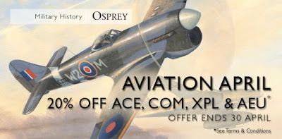 20% off ACE, COM, XPL & AEU from Osprey Publishing Ltd