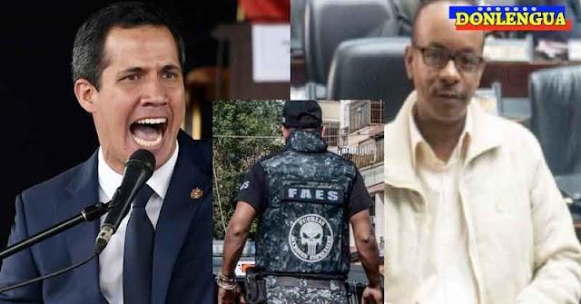 Juan Guaidó denuncia que el FAS secuestró al Diputado Gilberto Sojo