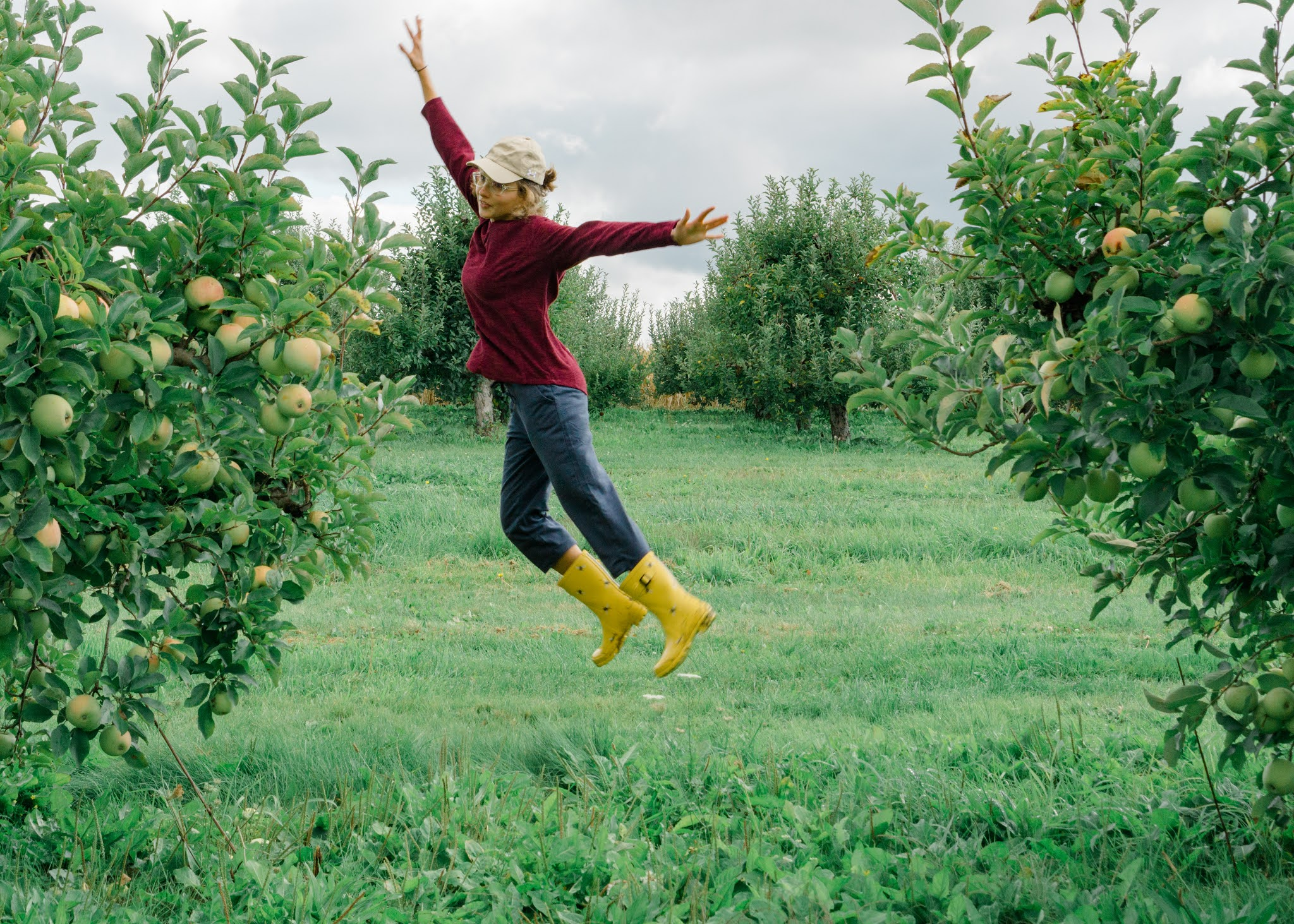 The best practices when apple picking