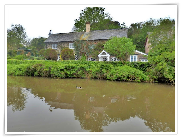 Cottage by the Bude Canal, Cornwall