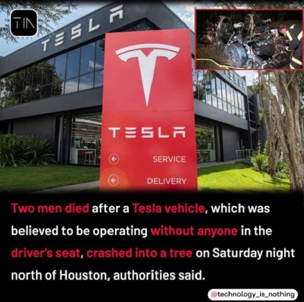 Insiden Kecelakaan Mobil Tesla