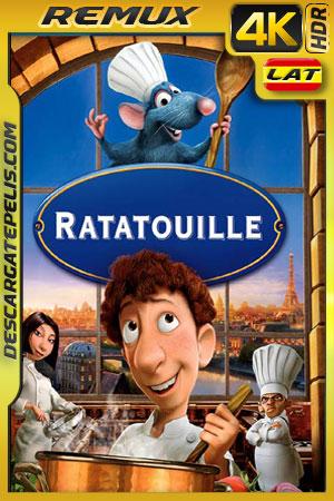 Ratatouille (2007) 4k BDRemux HDR Latino – Ingles
