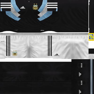 PES 6 Kits Argentina National Team Season 2018/2019 by Dibu Edition