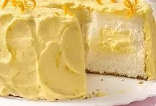 Resep dan Cara Membuat Orange Angel Food Cake