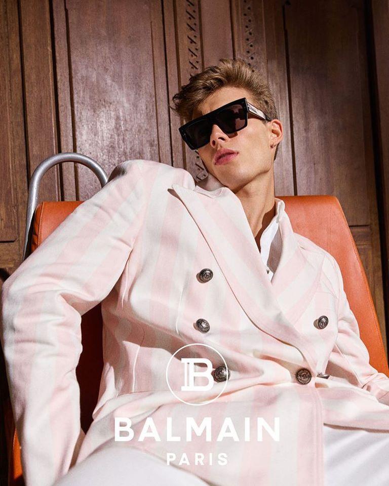 Balmain Spring Summer 2020 Ad Campaign