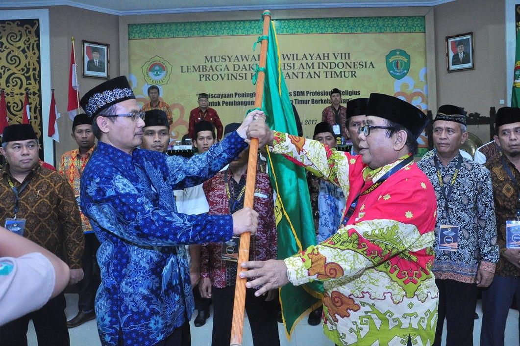 Krishna Purnawan Chandra Pimpin LDII Kalimantan Timur Periode 2017-2022