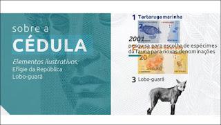 Nova cédula de R$ 200 entra em circulação na quarta-feira