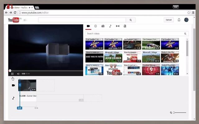 YouTube propose un outil d'édition très utile pour éditer des vidéos avant de les afficher sur YouTube, vous serez en mesure de modifier l'éclairage de la vidéo et la saturation des couleurs, et en ajoutant le flou sur une partie ou une action effet cinétique lent sur une partie également une partie ou accélérer une section particulière dans la vidéo, et de nombreuses propriétés où vous pouvez ajouter améliorants textes visuels ou des notes et des notes pour la vidéo avec de la musique, et la vidéo devient prête à être déployer, et vous pouvez accéder à cet outil en appuyant sur l'icône de la modification vidéo après l'avoir uploader (télécharger) sur votre chaine, ou en cliquant sur le lien ci-dessus, ce qui m'a impressionné dans cet outil gratuit, est que YouTube en prenant délibérément en compte et des journaux Les droits de propriété, l'édition et la créativité, que si vous soulevez une des vidéos sous copyright, vous ne serez pas en mesure de les modifier.