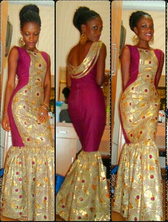 Simple And Creative Ankara Long Gown Styles - Debonke House Of Fashion