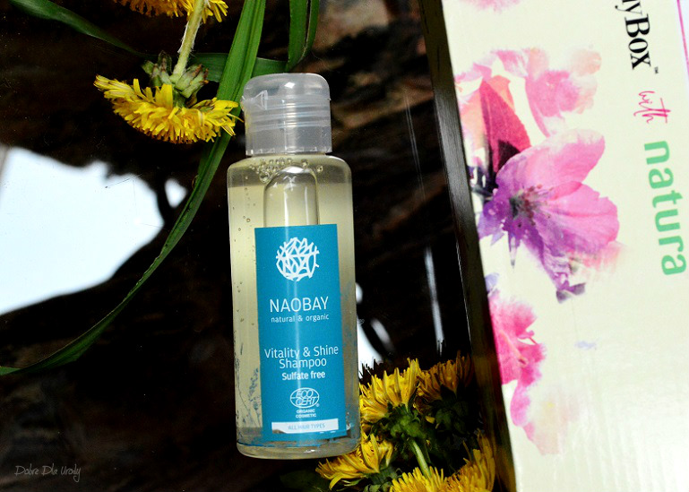 ShinyBox with Natura Spring Time - Naobay Szampon do włosów Vitality & Shine