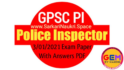 Gujarat Pi Exam Questions Paper With Solutions Download
