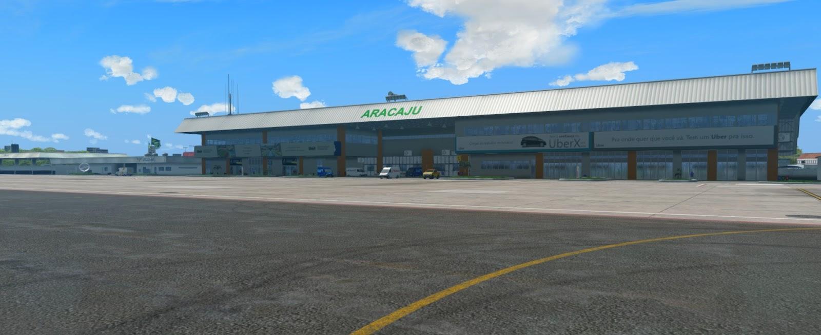 [Loja] SBARX2020 - Aeroporto de Aracaju FSX, Prepar3D 4(s) V. 2.0
